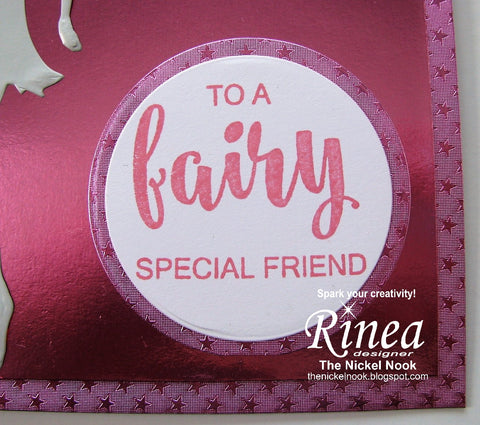 Fairy Special Friend Card