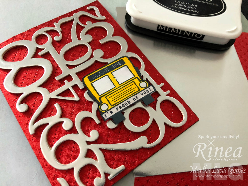 Back to School Card by Martha Lucia