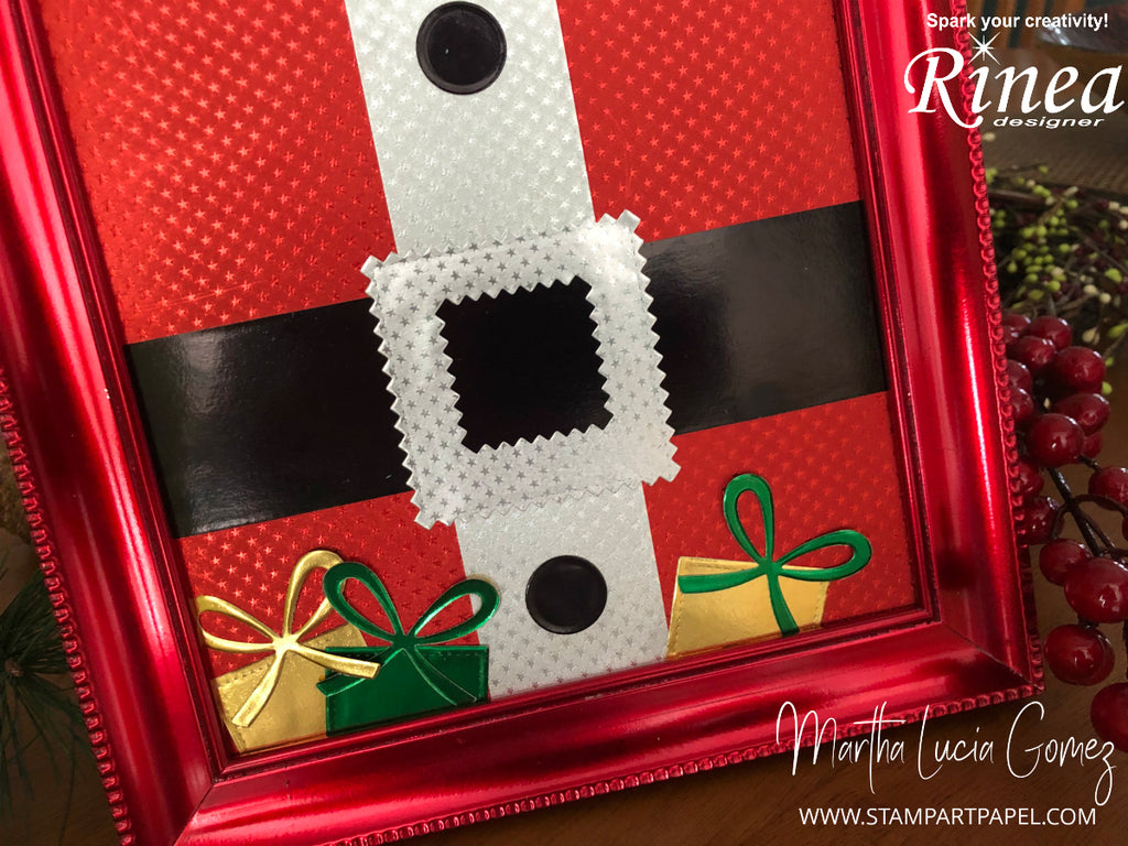 Christmas Frame by Martha Lucia