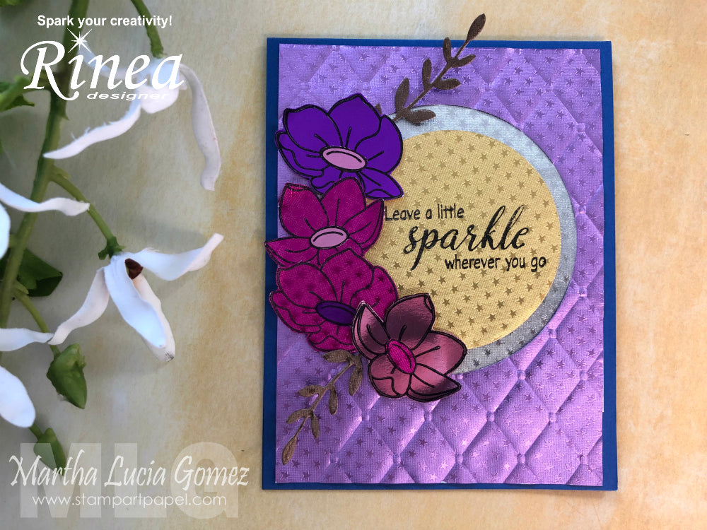Spring Card with Martha Lucia
