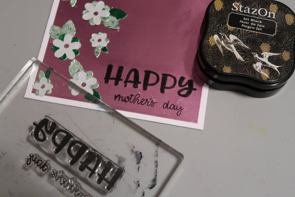 Two for One Mothers Day Card Plus with Roni Johnson