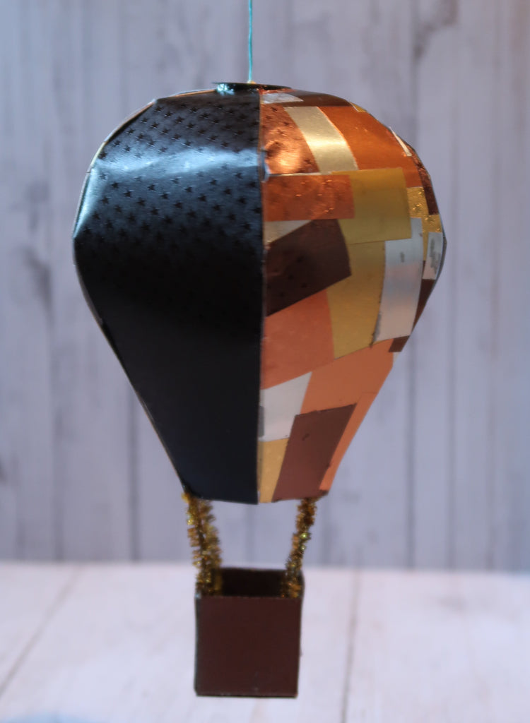 Rinea Tattered Steampunk Inspired Hot Air Balloon By Roni Johnson