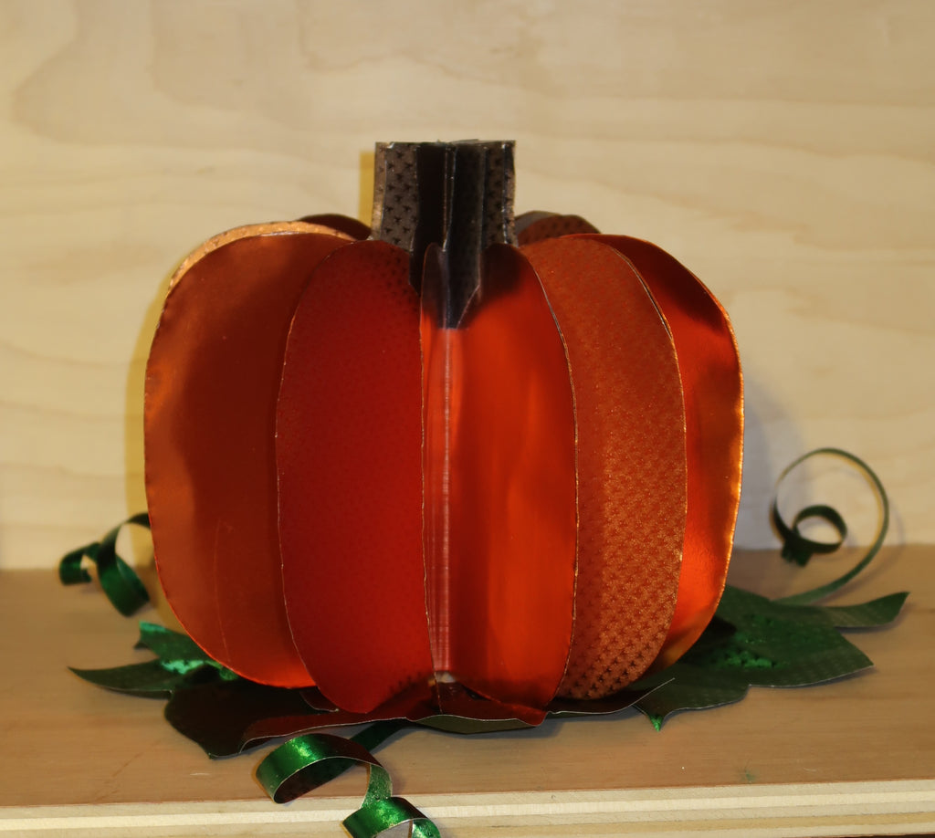 Pumpkin with Rinea Foiled Paper