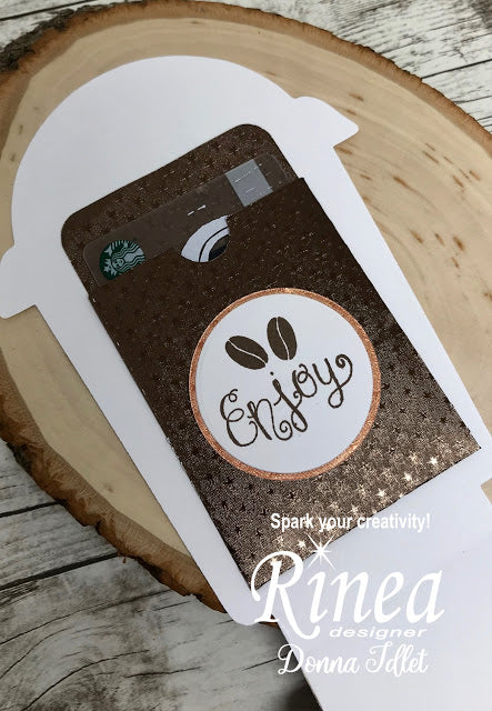 Frappuccino Gift Card by Donna