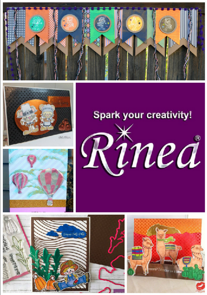 Rinea Foiled Paper Inspiration