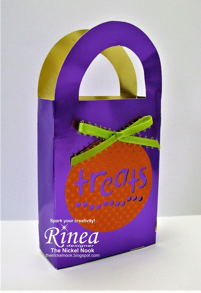 Treat Tote with Rinea Foiled Paper