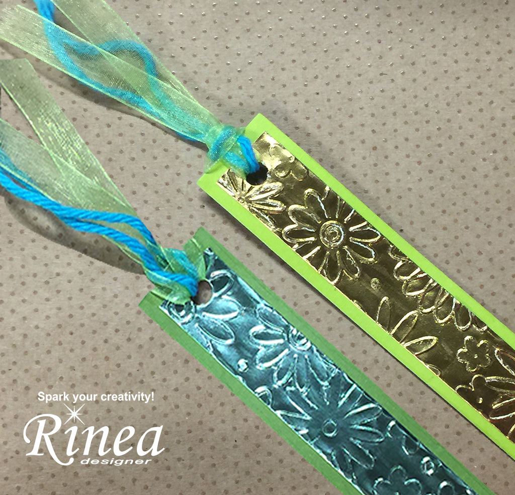 rinea foil bookmark