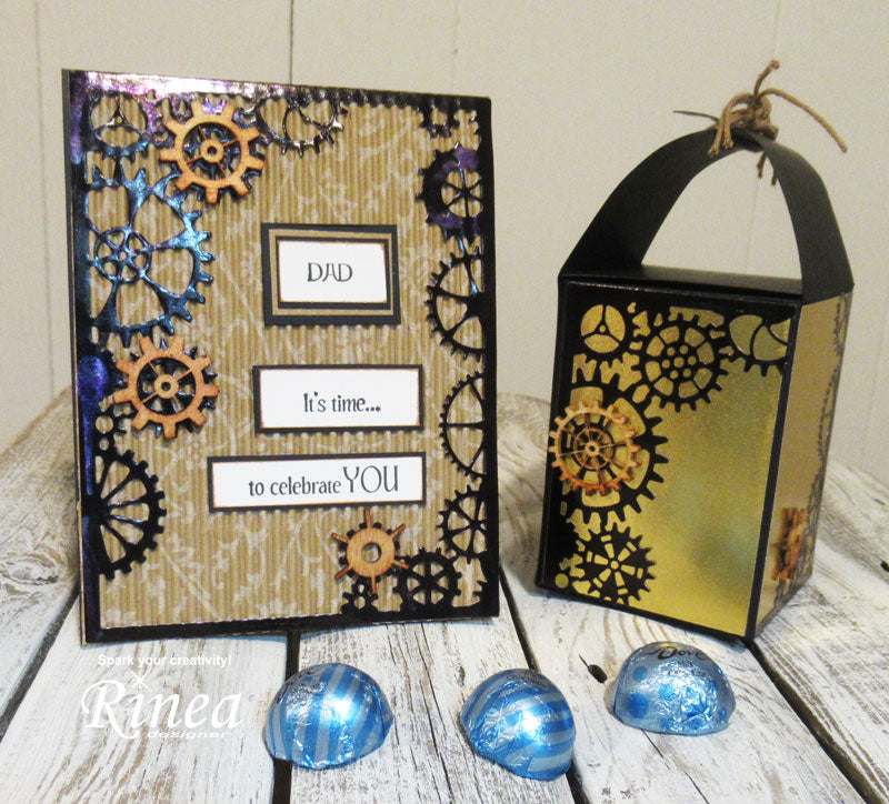 Father's Day Card with Rinea Foiled Paper