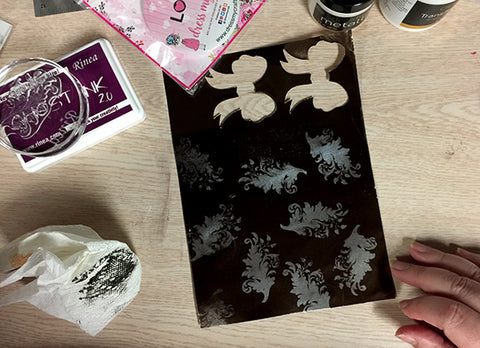 stamping ghost ink