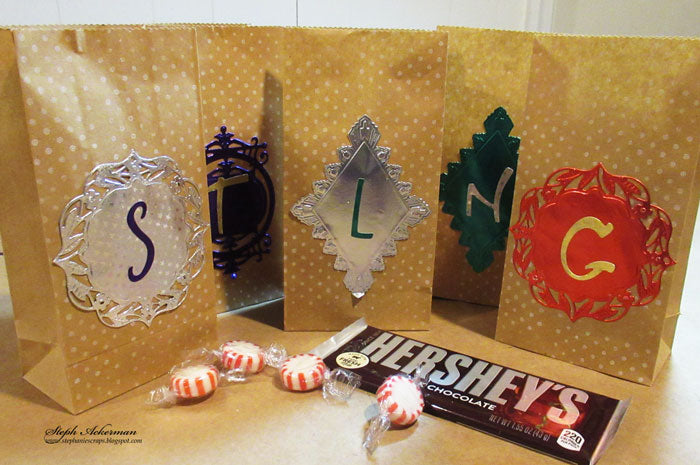 Treat Bags Using Rinea Foiled Paper