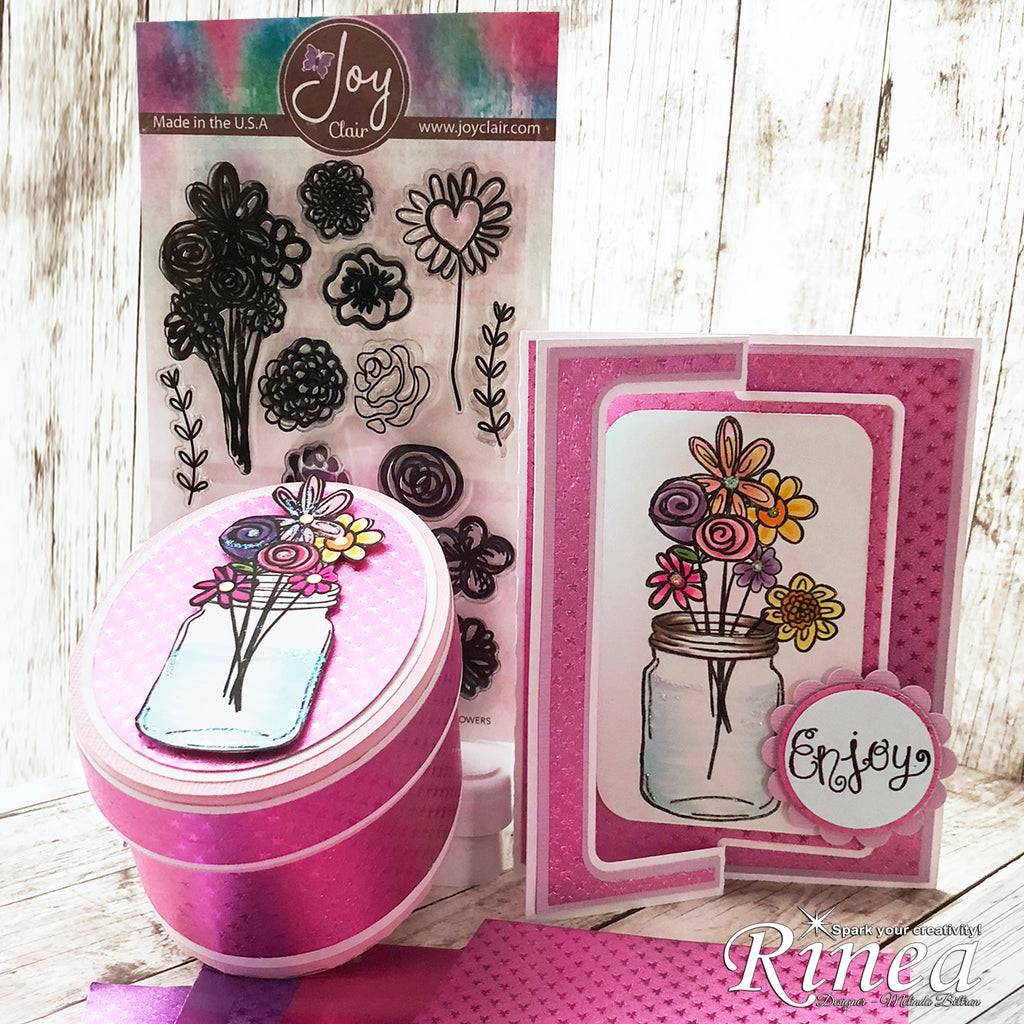 FREE SVG & Video Alert! Box and Card Set with Rinea and Joy Clair