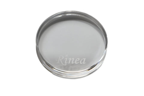 Rinea Clear Round Stamping Block