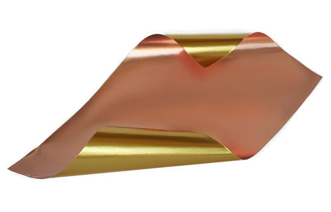 Rinea Copper Glossy Foiled Paper
