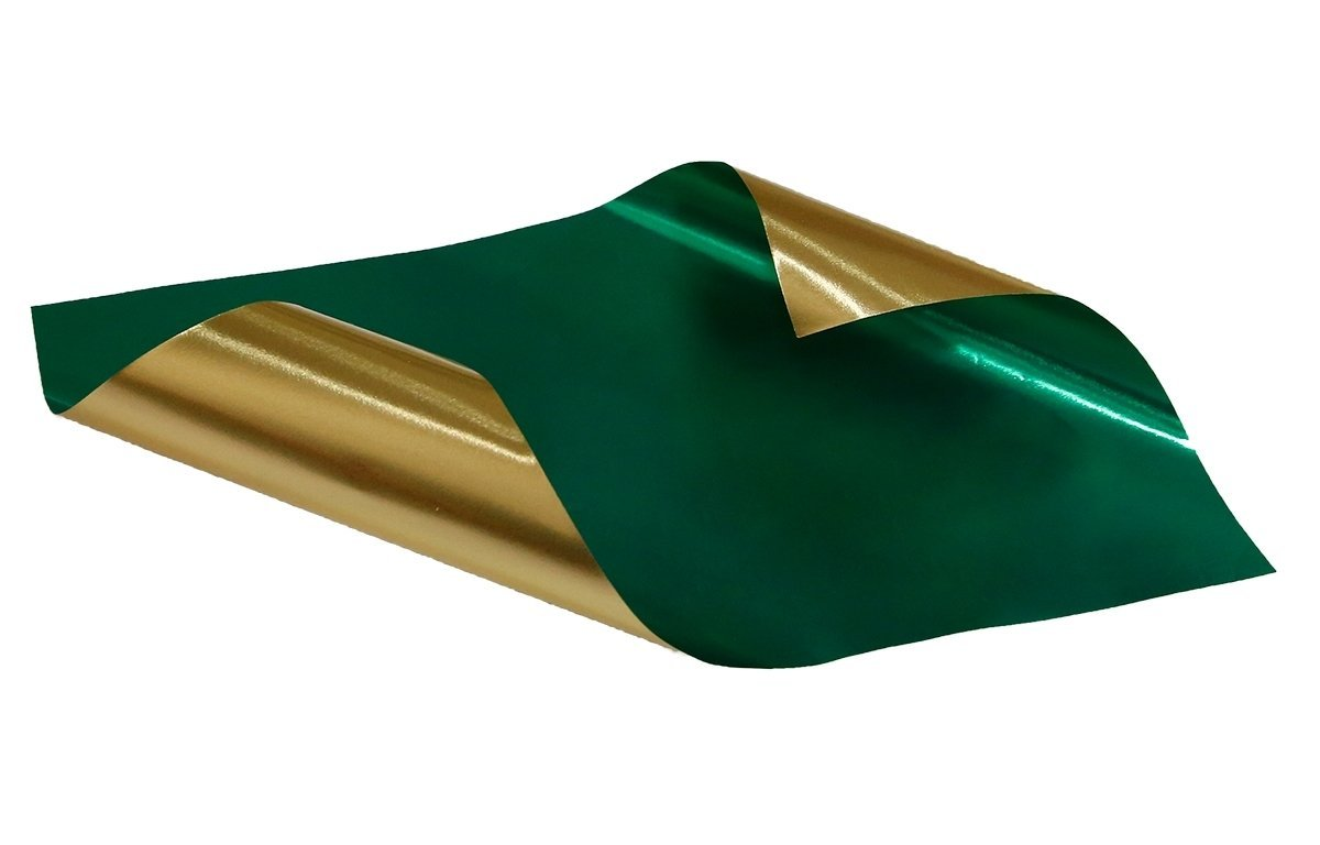 Rinea Emerald Green Glossy Foiled Paper