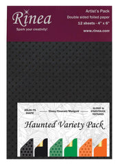 Haunted Foiled Paper Variety Pack - Rinea