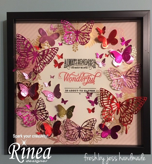 Rinea Love Variety Foiled Paper