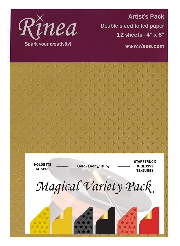 Rinea Magical Variety Foiled Paper