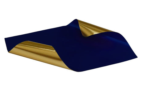 Rinea Midnight Blue Glossy Foiled Paper