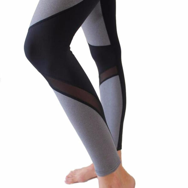 Patchwork Sporting leggings - Olivia and Ava