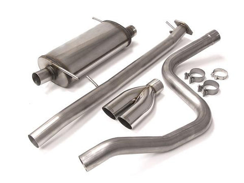 FSWERKS Stainless Steel Sport Exhaust System - 2014+ Ford Fiesta ST