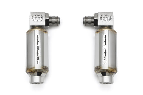 Fabspeed Universal 90 Degree O2 Spacers with Catalytic Converters