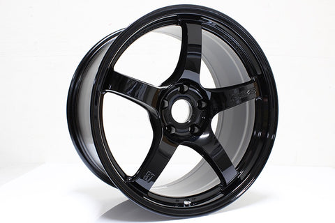 "Gram Lights 57CR (18X8.5"" 5x108 ET37 63.4cb) - Glossy Black or Gun Blue II"