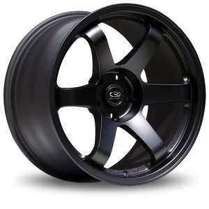 "Rota Grid wheel (17x8"" 4x108 ET40) - Flat Black, Hyper Black, or White"