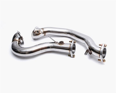 Agency Power Downpipes - 2008-10 BMW 135i (E82) N54