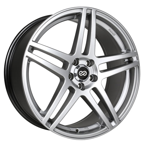 Enkei RSF5 wheel (18x8 5x108 ET40) Matte Black or Silver