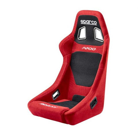 Sparco F200 Fixed Back Seat - Universal