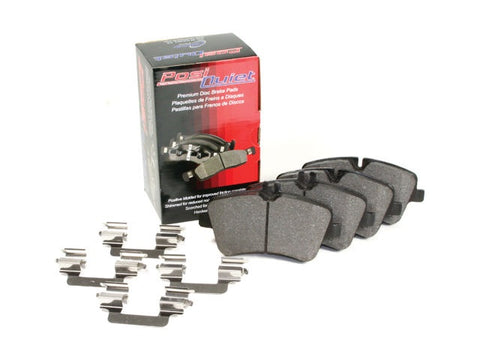 Stoptech PosiQuiet Semi-Metallic Brake Pads Rear - 2013-14 Ford Focus ST