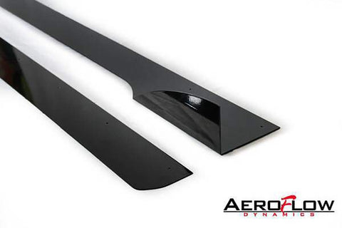 Aeroflow Dynamics Side Skirt Extension V2 - 2013+ Ford Focus St