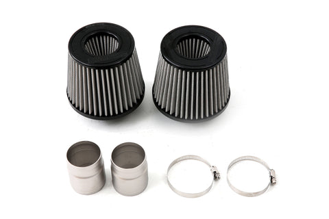 cp-e Dual Velocity Cone Ram Air Intake Kit (TurboStock ) SynOil - 2008-10 BMW 135i (e82) N54