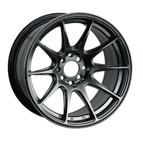 "XXR model 527 wheel (17x7.5"" 4x108 ET40 73.1cb) - Chromium Black, Gold, & Flat Black"