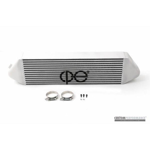 cp-e Core Lightweight Front Mount Intercooler; Titan Finish - 2013+ Ford Focus ST