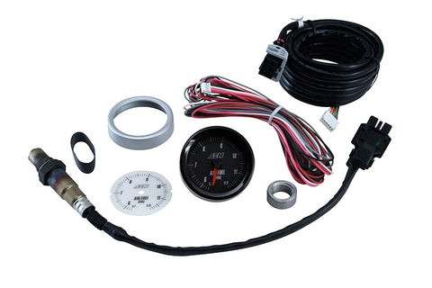 AEM Analog E85 Wideband UEGO Gauge - 5.7~11.9 E85 Air to Fuel Ratio - Universal