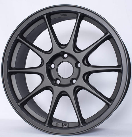 "Rota Strike-F wheel (17x8"" 4x108 ET40) - Flat Black"