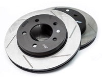 StopTech Slotted Front Rotors - 2008+ BMW 135i (E82)