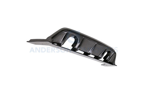 Anderson Composites Type-AR Carbon Fiber Rear Diffuser - 2016+ Ford Focus RS