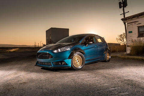 Disgruntled Designs Fender Flare Kit - 2014+ Ford Fiesta ST