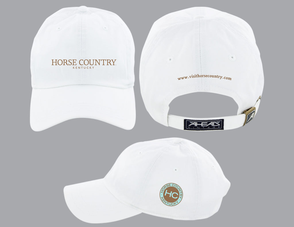 Horse Country Text Logo Hat (multiple colors)