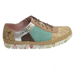 Espadrille Oxford Taupe Multi