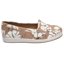 Orion Floral Taupe