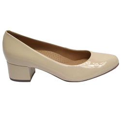 Eclipse Verniz Pump Beige