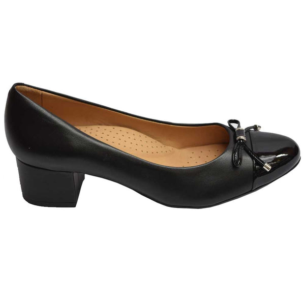 Eclipse Bow Pump Black