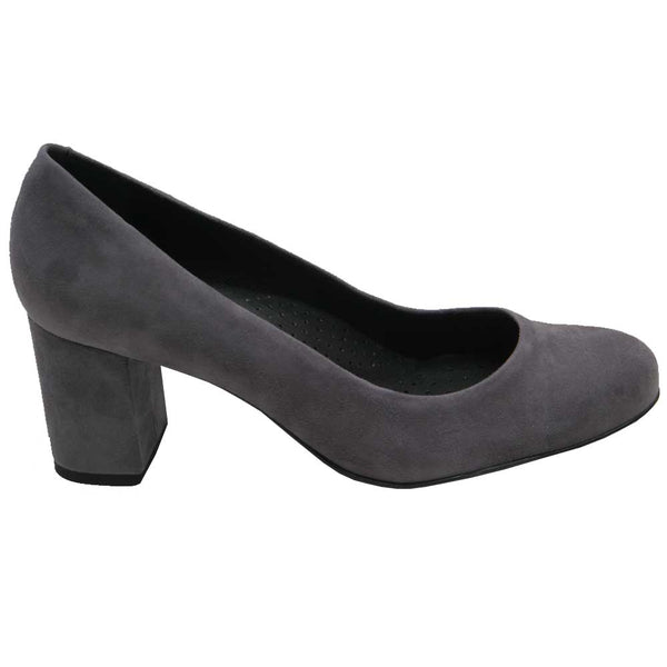 Mabel 12 Suede Pump Grey