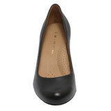 Mabel 12 Leather Black