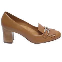 Mabel 12 Tassel Pump Tan/Lexy