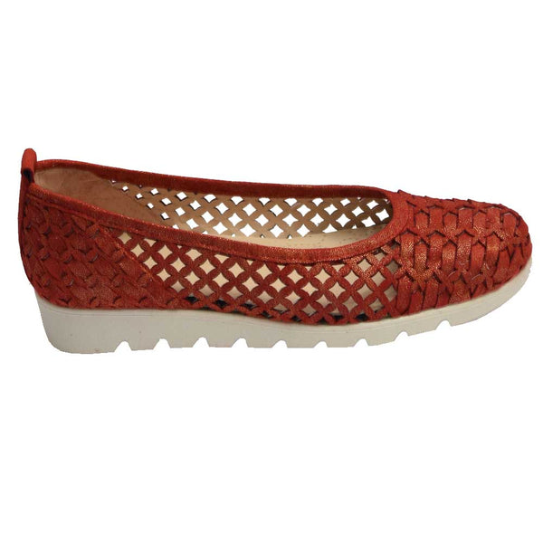 Woven Ballet Red