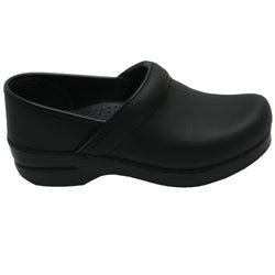 Prof. Oiled Clog Black